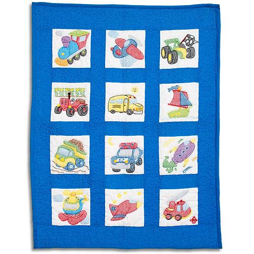 Transportation Nursery Quilt Blocks