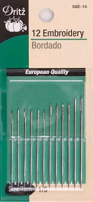 Embroidery Hand Needles Size 1/5