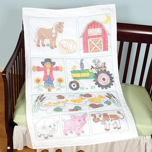 Barn Crib Quilt Top