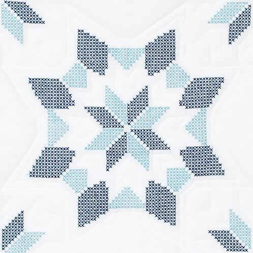 Interlocking XX Western Star 18″ Quilt Blocks
