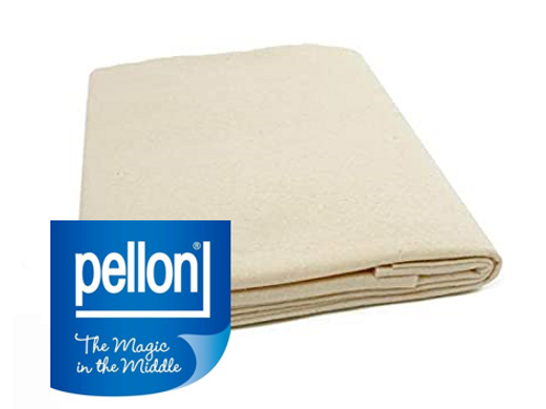 """Pellon Natural Cotton Batting Roll with Scrim 90""""x 1yd Needle Punched"""
