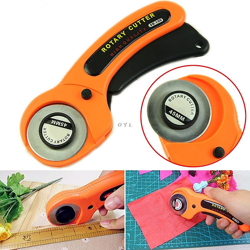 New 45mm Rotary Cutter Quilters Premium