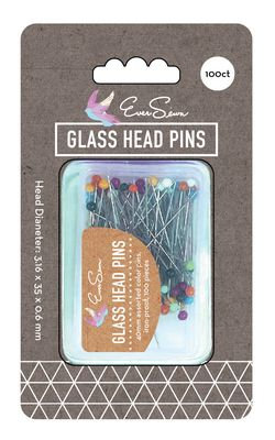 EverSewn Color Glass Pearl Pin