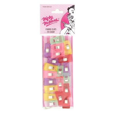 Fabric Clips 20ct