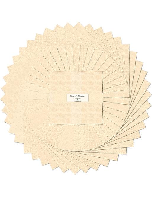 "Wilmington Prints - Caramel Macchiato 10"""