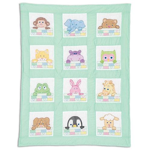 Peek-A-Boo Nursery Quilt Blocks