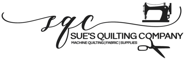 Sue's Quilting Company Logo