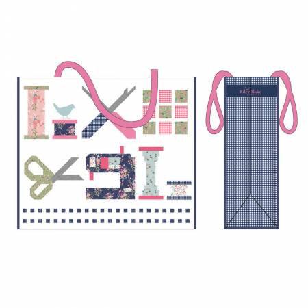 Riley Blake Designs 10th Anniversary Tote Bag