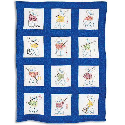 Little Boys Nursery Quilt Blocks