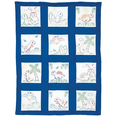 Dinosaurs Nursery Quilt Blocks