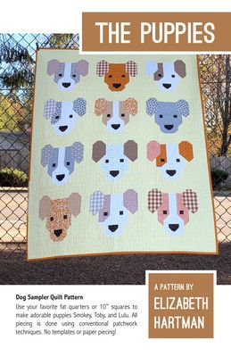 The Puppies Quilt Pattern
