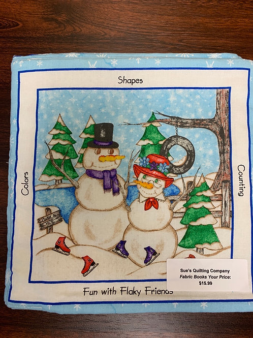 Fun with Flaky Friends Fabric Book