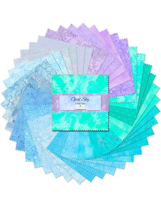 Wilmington Prints Studio Opal Sky - 5 Karat Gems