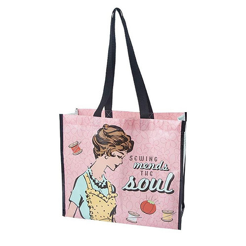 Lori Holt Sewing Mends the Soul Tote Bag