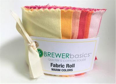 Fabric Roll Warm Colors
