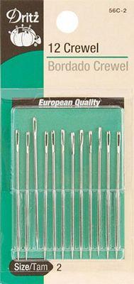 Crewel Hand Needles size 2