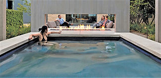 cheminee-exterieure-gaz-piscine-terrasse