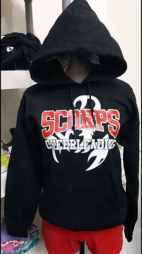 Scorpions Black Hooded Sweatshirt
