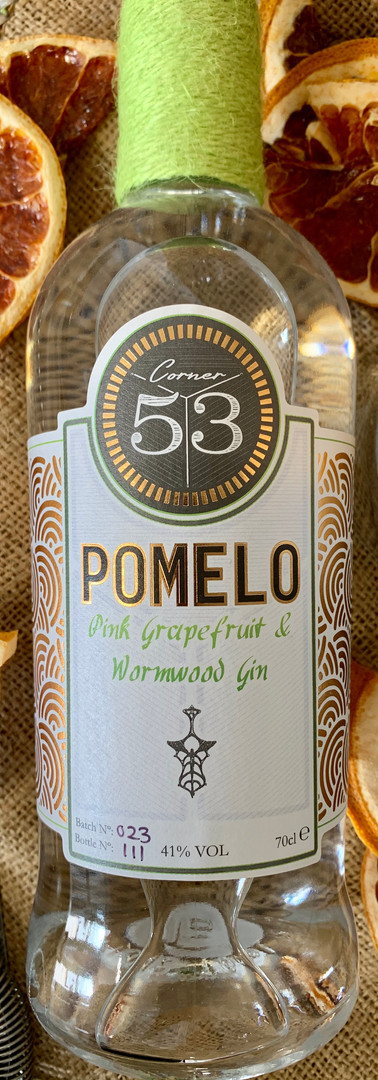 """Pomelo"" Pink Grapefruit & Wormwood Gin."