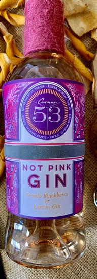 """""""Not Pink Gin"""" Blackberry, Lemon & Honey Gin"""