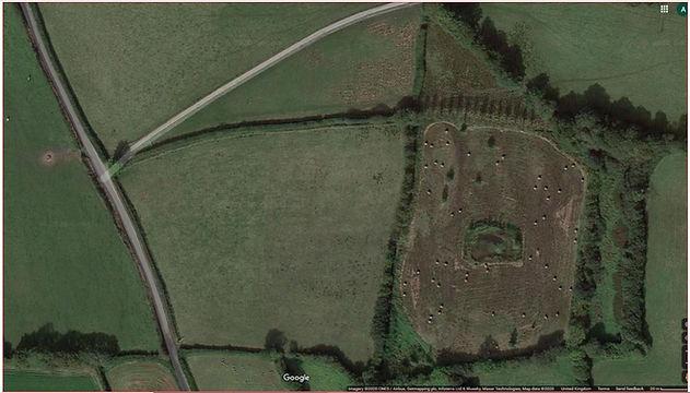 Roborough Fields Google maps.JPG