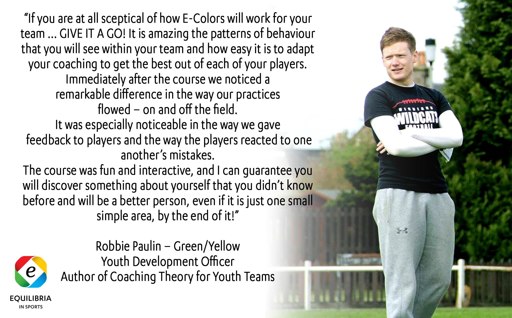 Robbie Paulin