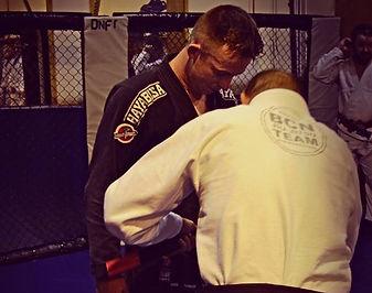 BJJ Black Belt Danny Gray of Higher Level MMA West Lothian Scotland