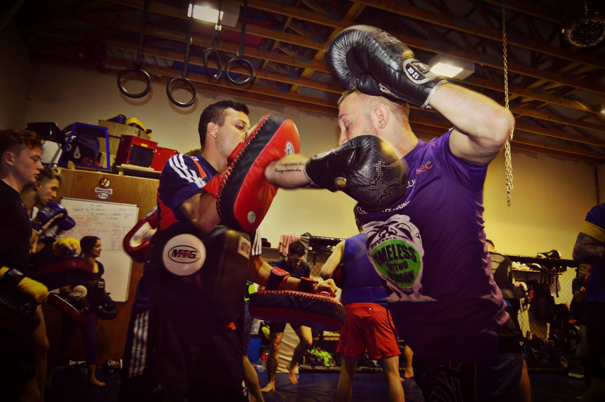 Muay Thai class at Higher Level