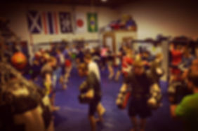 Higher Level MMA class at Bathgate West Lothian, Muay Thai