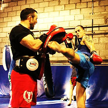 Muay Thai Kickboxing at Higher Level MMA in Bathgate, Scotland