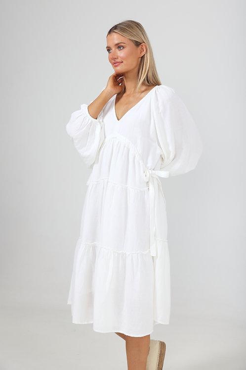 The Shanty Wing & A Prayer Dress - White