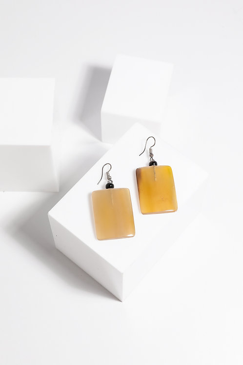 Holiday Silas Earring - Amber