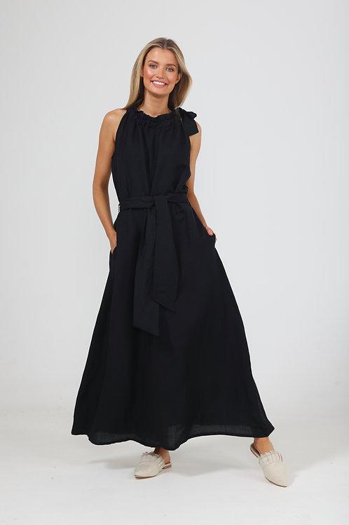 The Shanty Lucia Dress - Black