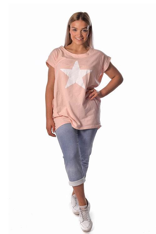The Italian Cartel Lia Star Top - Pink