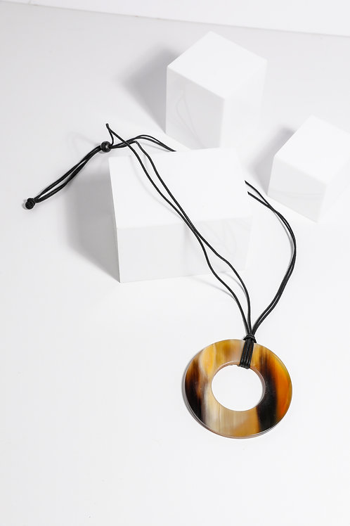 Holiday Silas Necklace - Amber