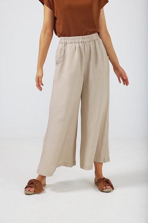 The Shanty Positano Pants - Natural