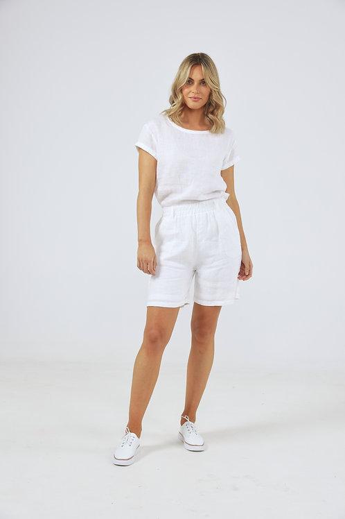 Holiday Captain Shorts - White