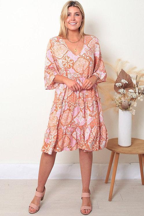 Dreamcatcher Janessa Midi Dress