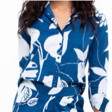 Boom Shankar Kala Shirt Blue
