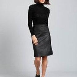 B & T Beverley Skirt - Black Wash