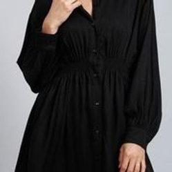 B & T Lopez Shirt - Black