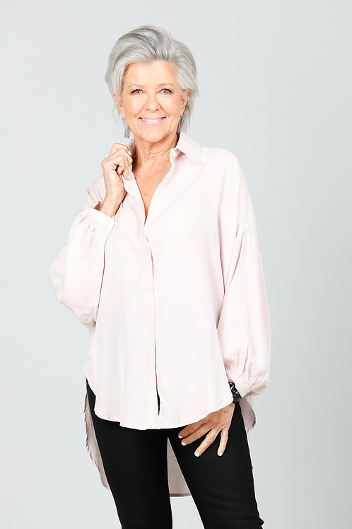 Safari Overshirt - Blush