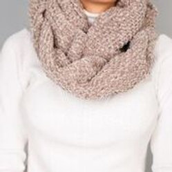 Brentwood Snood - Taupe