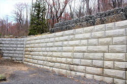 Private Residential Retaining Wall