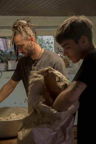 Fabrication de pain artisanal