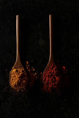 Epices - Curcuma et paprika
