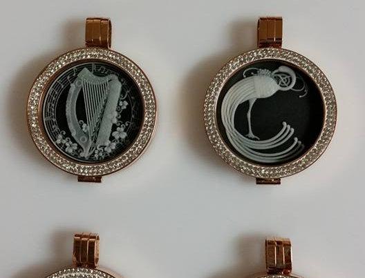 Mio Mi 33mm Irish Collection Cameo Pendant