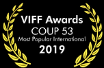 Coup 53 VIFF Awards Most Popular Zoe Dav