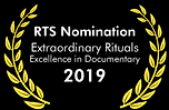 Extraordinary Rituals RTS Nomination Zoe