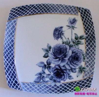 洋絵付-イングレ皿